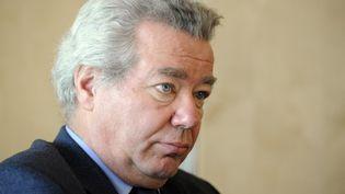 Didier Chenet, président du Groupement national des indépendants (GNI) hôtellerie-restauration. (BERTRAND GUAY / AFP)