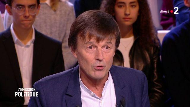 """Nicolas Hulot : """"La tyrannie de la Finance accapare l'ensemble des biens communs"""""""