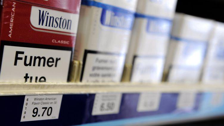 Les prix du tabac ont augmenté et entraîné une baisse de la consommation en 2018. (/NCY / MAXPPP)