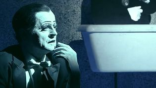 "Mikhail Baryshnikov dans ""letter to a man"", Bob Wilson  (Image extraite du teaser  de ""Letter  ton a man"")"