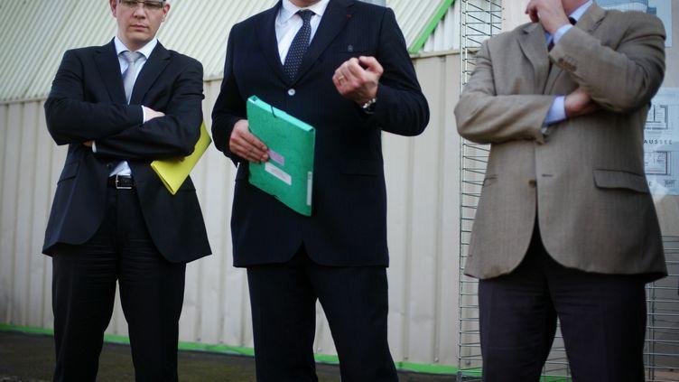 Cédric Perrin, sénateur du Territoire de Belfort en 2012 (SIMON DAVAL / MAXPPP)