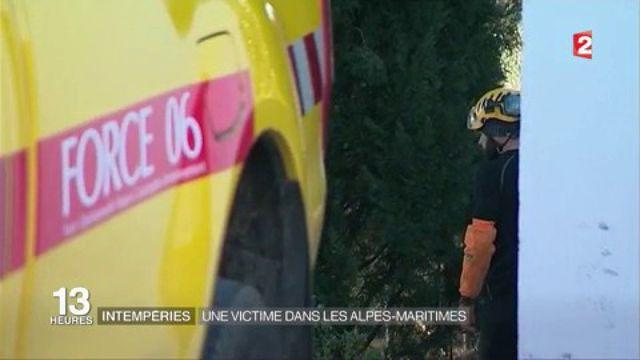 Tempête Egon : une femme meurt dans les Alpes-Maritimes