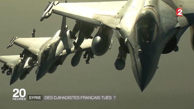 Frappes en Syrie : six jihadistes français tués ?