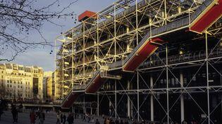 Belle performance du Centre Pompidou, qui gagne 15,4 % de fréquentation en un an et termine cinquième, avec3 611 693 visiteurs. (TRIPELON-JARRY / ONLY FRANCE / AFP)