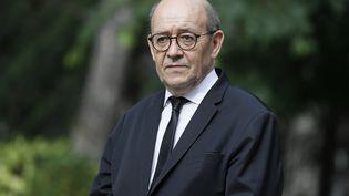 Jean-Yves Le Drian, le 17 mai 2017 à Paris. (THOMAS SAMSON / AFP)