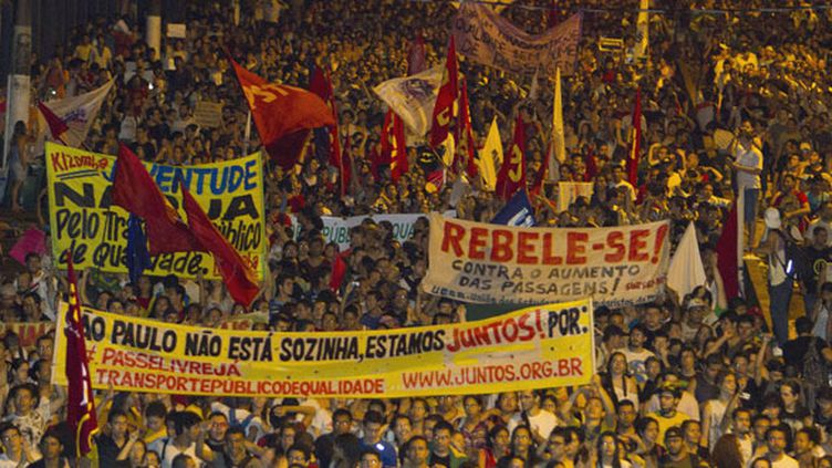 Rio de Janeiro, Sao paulo, Belo Horizonte et ici Belem, les villes du Brésil vivent au rythme des manifestations