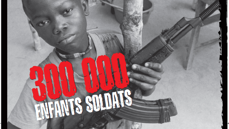 Ils seraient à l'heure actuelle 250.000 à 300.000 à travers le monde. (UNICEF)