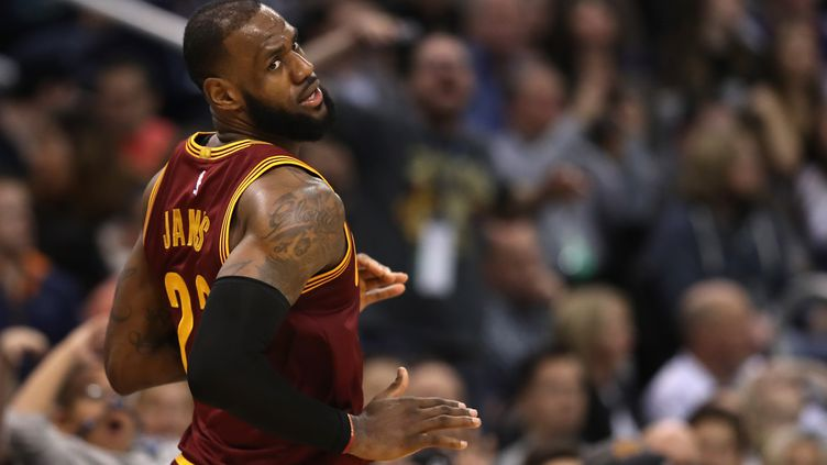 LeBron James (Cleveland Cavaliers) (CHRISTIAN PETERSEN / GETTY IMAGES NORTH AMERICA)
