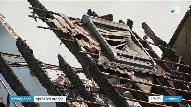 Intempéries : de gros orages se sont abattus sur tout le territoire