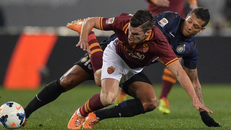 Kevin Strootman (AS Rome)  (ANDREAS SOLARO / AFP)