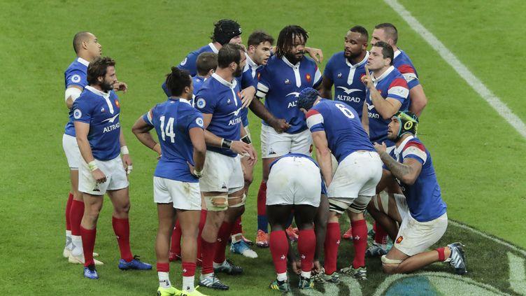 Le dépit des Français face à l'Afrique du Sud (STEPHANE ALLAMAN / STEPHANE ALLAMAN)