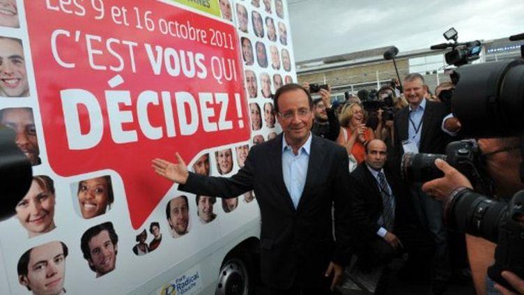 François Hollande avant la primaire du PS (AFP)