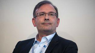 Jean-Noël Tronc, le directeur général de la Sacem, le 29 août 2018 à Jouy-en-Josas (Yvelines). (CHRISTOPHE MORIN / MAXPPP)