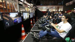 Le Paris Games Week s'est installé au parc des Expositions, porte de Versailles, à Paris du 31 octobre au 4 novembre. (FRANCOIS GUILLOT / AFP)