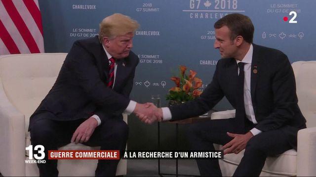 Sommet du G7 : recherche de compromis sur fond de guerre commerciale