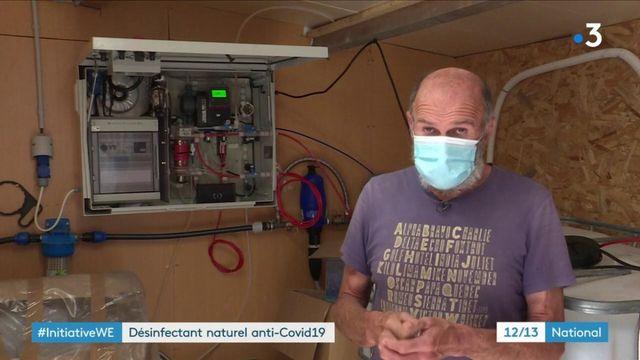 Coronavirus : un agriculteur trouve un désinfectant naturel anti-Covid