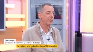 Pierre Kopp, économiste spécialiste du tabac (FRANCEINFO)