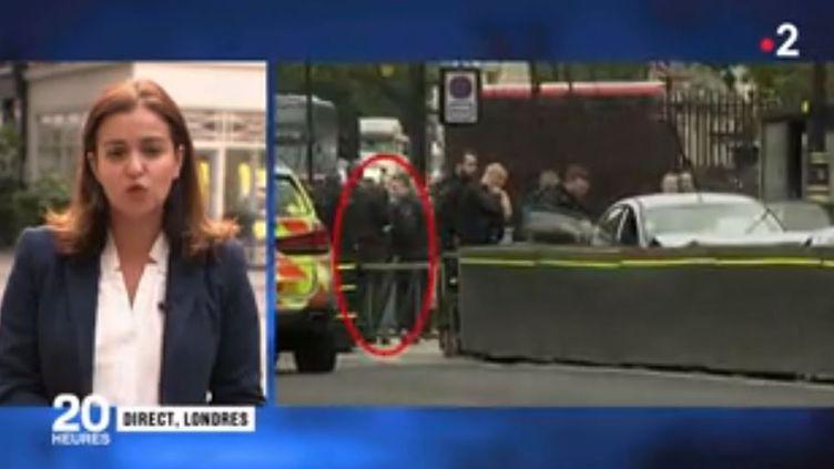 Acte terroriste à Londres. (FRANCE 2)