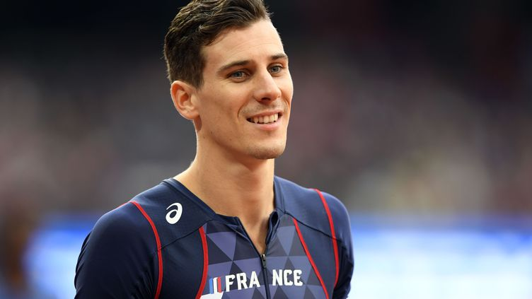 Pierre-Ambroise Bosse, champion du monde du 800 mètres en 2017. (JULIEN CROSNIER / DPPI MEDIA)