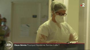 La situation sanitaire est de plus en plus tendue dans les Deux-Sèvres. Le taux de contamination a bondi dans le département. (FRANCE 2)