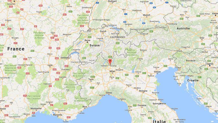Le frère de l'auteur de l'attentat à Marseille a été arrêtéà Chiasso (Suisse), le 8 octobre 2017. (GOOGLE MAPS)