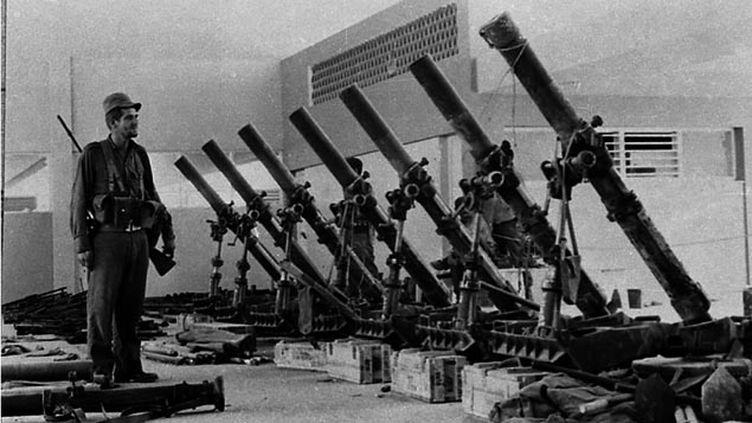 (Les restes du débarquement de la baie des cochons sur Cuba en 1961 juste avant la crise des missiles © Reuters)