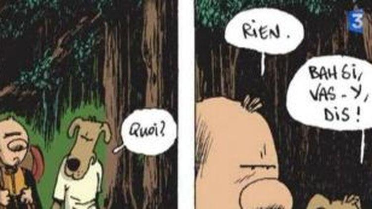 Guillaume Bouzard et Diego Aranega, deux maîtres du gag en bande dessinée  (Culturebox)