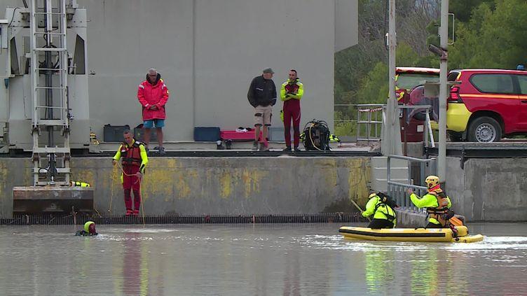 Les recherches continuent pour retrouver des victimes de la tempête Alex (FRANCE 3)