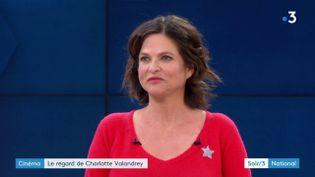 La comédienne Charlotte Valandrey (France 3)