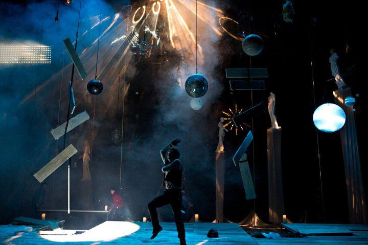 Scénographie Daniel Jeanneteau, Jean-François Sivadier, Christian Tirole  (Brigitte Enguérand)