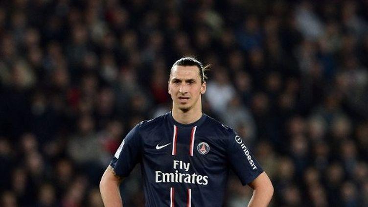 Zlatan Ibrahimovic, l'attaquant du PSG