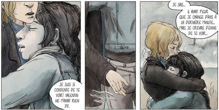 """Extrait de """"Le bleu est une couleur chaude""""  (Julie Maroh / Glénat)"""