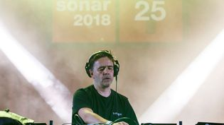 Laurent Garnier joue au Sónar Festival de Barcelone (Espagne) le 14 juin 2018. (XAVI TORRENT / WIREIMAGE / GETTY IMAGES)
