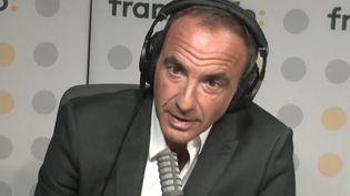 Nikos Alaiagas (10 septembre 2021). (FRANCEINFO/ RADIO FRANCE)