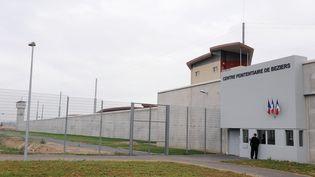L'entrée du centre pénitentiaire de Béziers (Hérault), le17 novembre 2009. (PASCAL GUYOT / AFP)