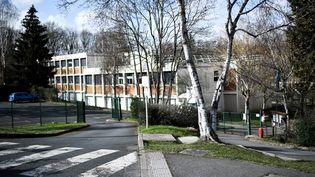 Le collège du Pont de Boisà Saint-Chéron (Essonne), le 23 février 2021. (STEPHANE DE SAKUTIN / AFP)