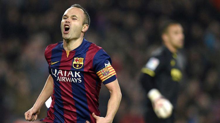 Andres Iniesta (FC Barcelone) (LLUIS GENE / AFP)