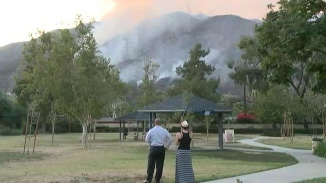 Des incendies ravagent plusieurs états du sud-ouest des Etats-Unis, mardi 21 juin 2016.