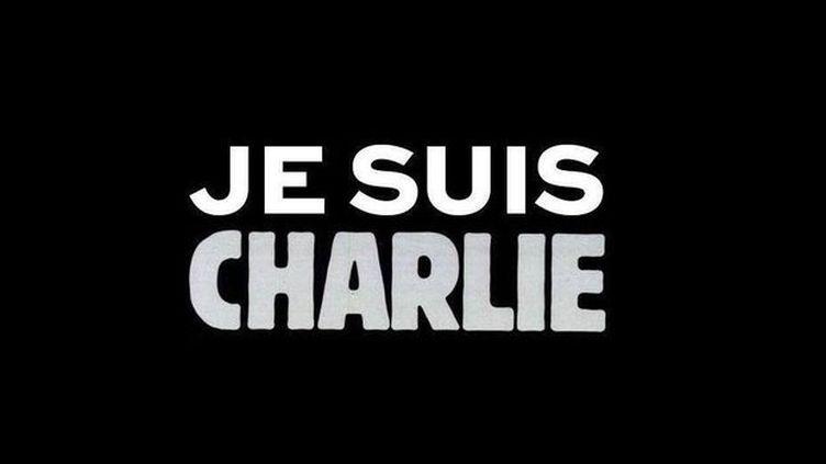 """Le slogan """"Je suis Charlie"""", devenu l'emblème du soutien au journal """"Charlie Hebdo"""", visé par une attaque terroriste le 7 janvier 2015 qui a fait 12 morts. ( DR )"""