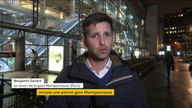 SNCF : retards à la gare Montparnasse à la suite d'un incident