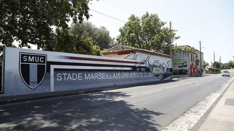 Le stade Jean-Bouin à Marseille (Bouches-du-Rhône), le 19 juillet 2015. (  MAXPPP)