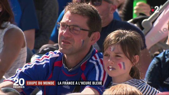 Coupe du monde : la France à l'heure bleue