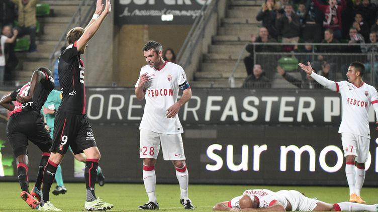 Toivonen célèbre son but devant Toulalan (DAMIEN MEYER / AFP)