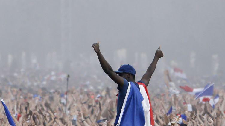 La presse salue le côté rassembleur de cette victoire.  (CHARLY TRIBALLEAU / AFP)