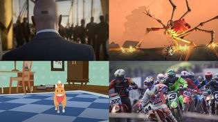 Les jeux vidéo du mois de janvier 2021. (FRANCEINFO)