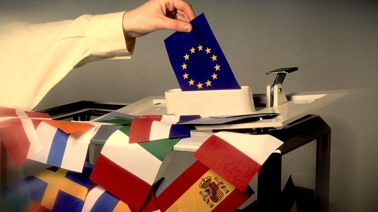 Vote pour les élections européennes du 23 au 26 mai 2019 (BERNARD JAUBERT / ONLY WORLD)