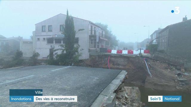 Inondations dans l'Aude : des vies à reconstruire