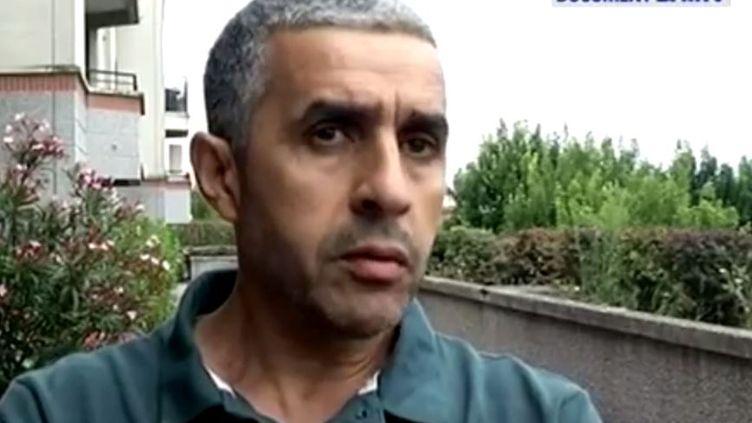 Nacir Ghedir, le père du petit garçon mort en colonie de vacances dans l'Ariège, le 12 juillet 2014. (BFMTV)