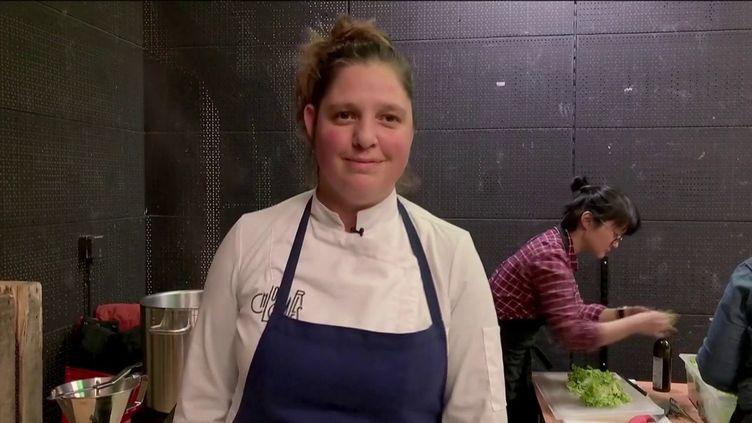 La cuisinière Chloé Charles (FRANCEINFO)