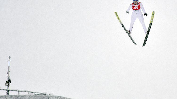 Bernhard Gruber a été impressionnant sur les skis (BARBARA GINDL / APA)
